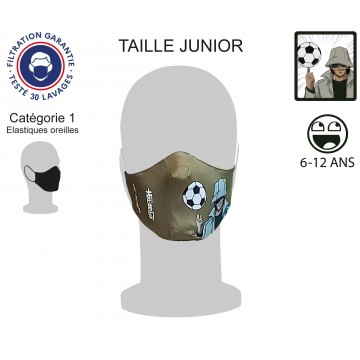 Masque Barrière Junior Sedinho élastiques oreilles