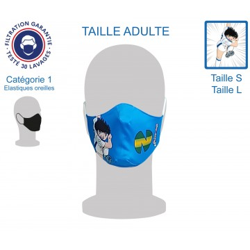 Masque Barrière Adulte Newteam1 élastiques oreilles