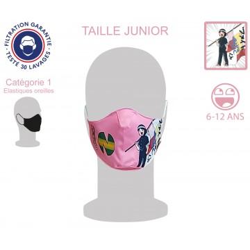 Masque Barrière Junior Patty élastiques oreilles