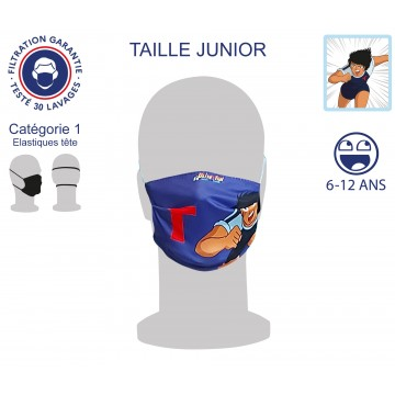 Masque Barrière Junior Toho élastiques tête