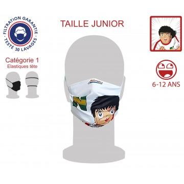Masque Barrière Junior Newteam2 élastiques tête