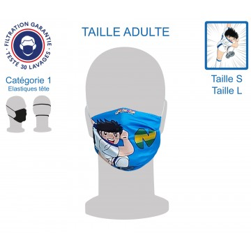 Masque Barrière Adulte Newteam1 élastiques tête
