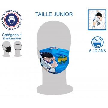 Masque Barrière Junior Newteam1 élastiques tête