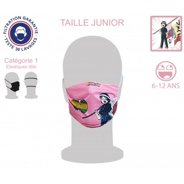 Masque Barrière Junior Patty élastiques tête